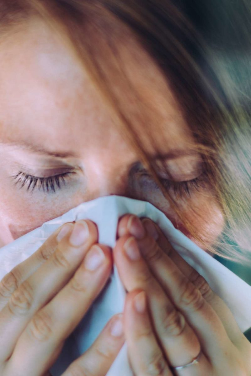 Itchy Eyes Accompanied By Sneezing And Itchy Nose In Cold Weather?