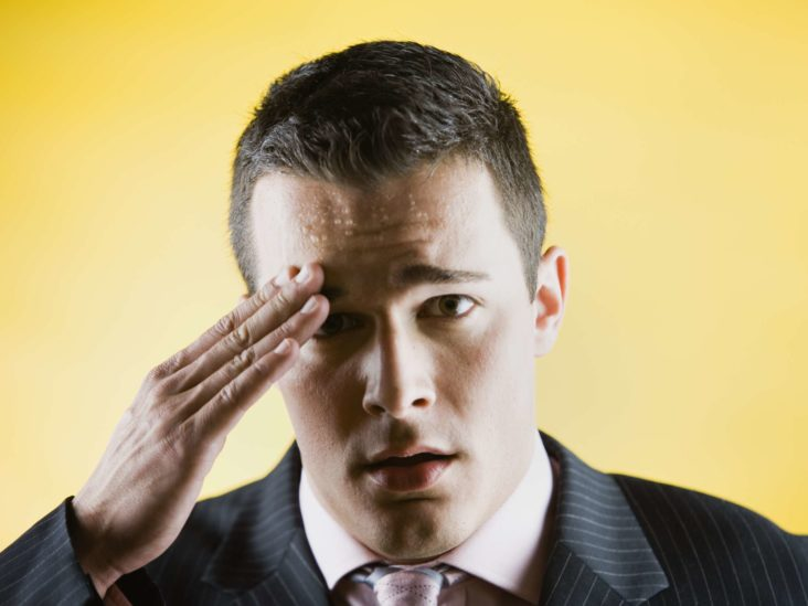 Cold Sweat And Head Feels Heavy After Experiencing Depression?
