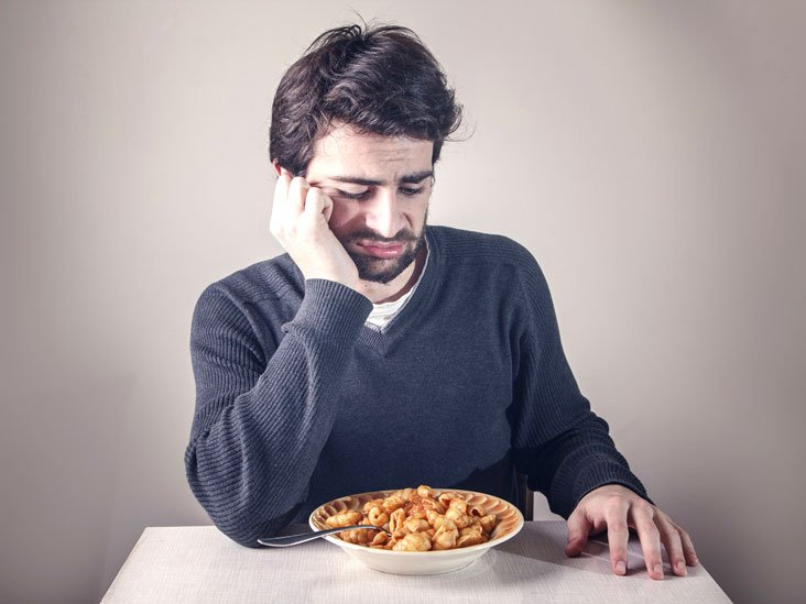 The Cause Of Appetite Suddenly Disappear While Eating?