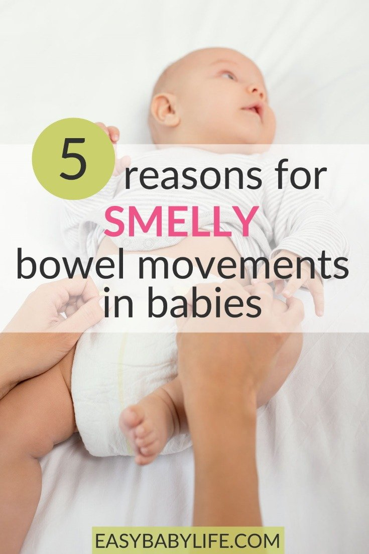 The Cause Of Feces And Farts Of A 6 Month Old Baby Is Foul Smelling?