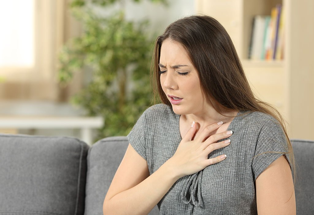 Shortness Of Breath During 8 Months Pregnant With Fasting Conditions?