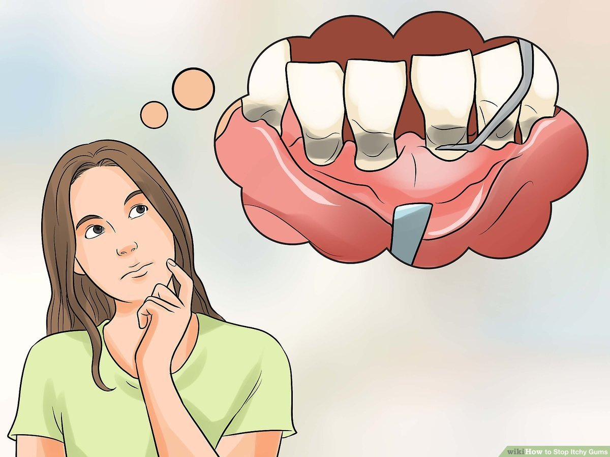 The Lower Front Teeth Ache And Itch?