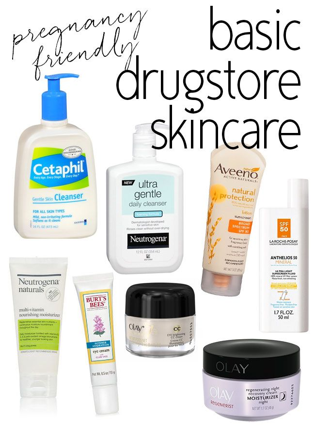 The Use Of Skin Care Products During Pregnancy?
