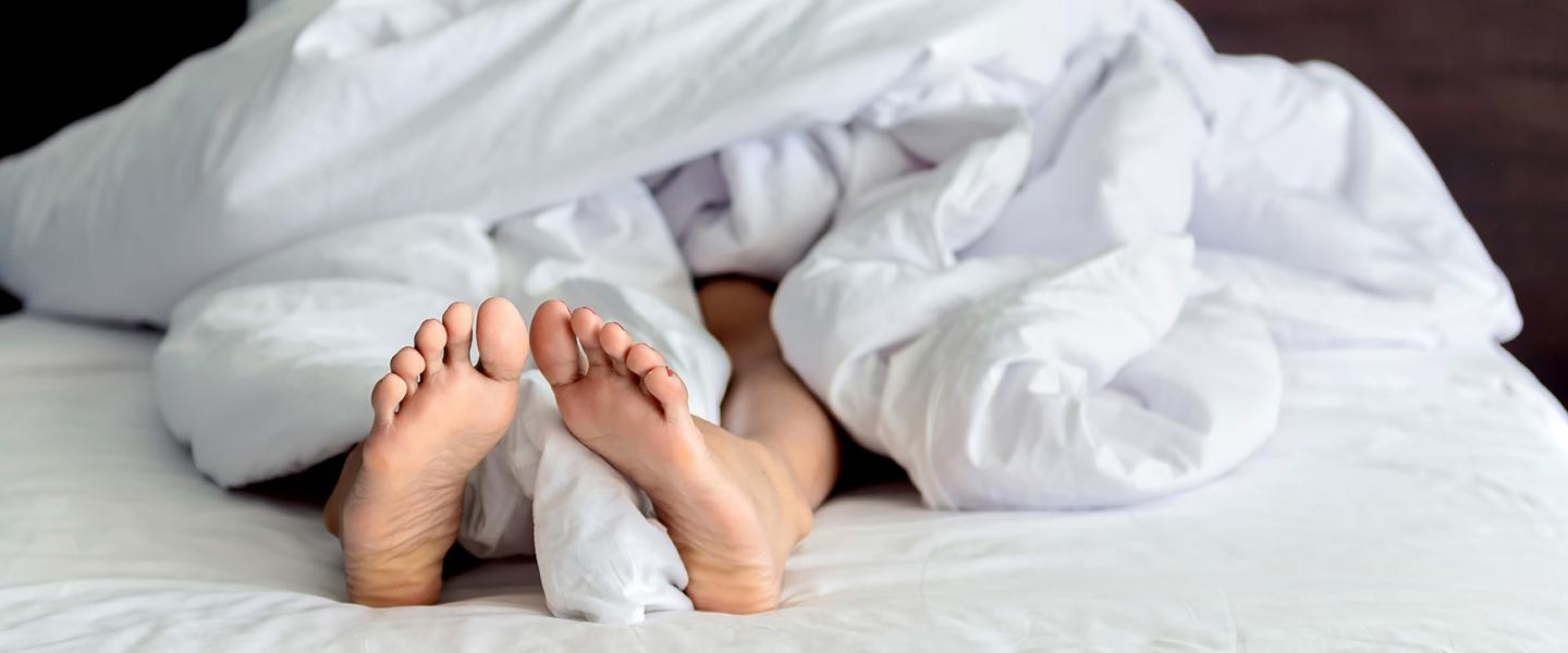 The Feet Often Move Involuntarily When They Want To Rest?