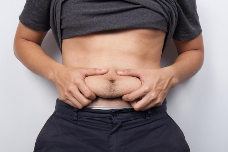 The Upper Abdomen Is Distended But Not Bloated?