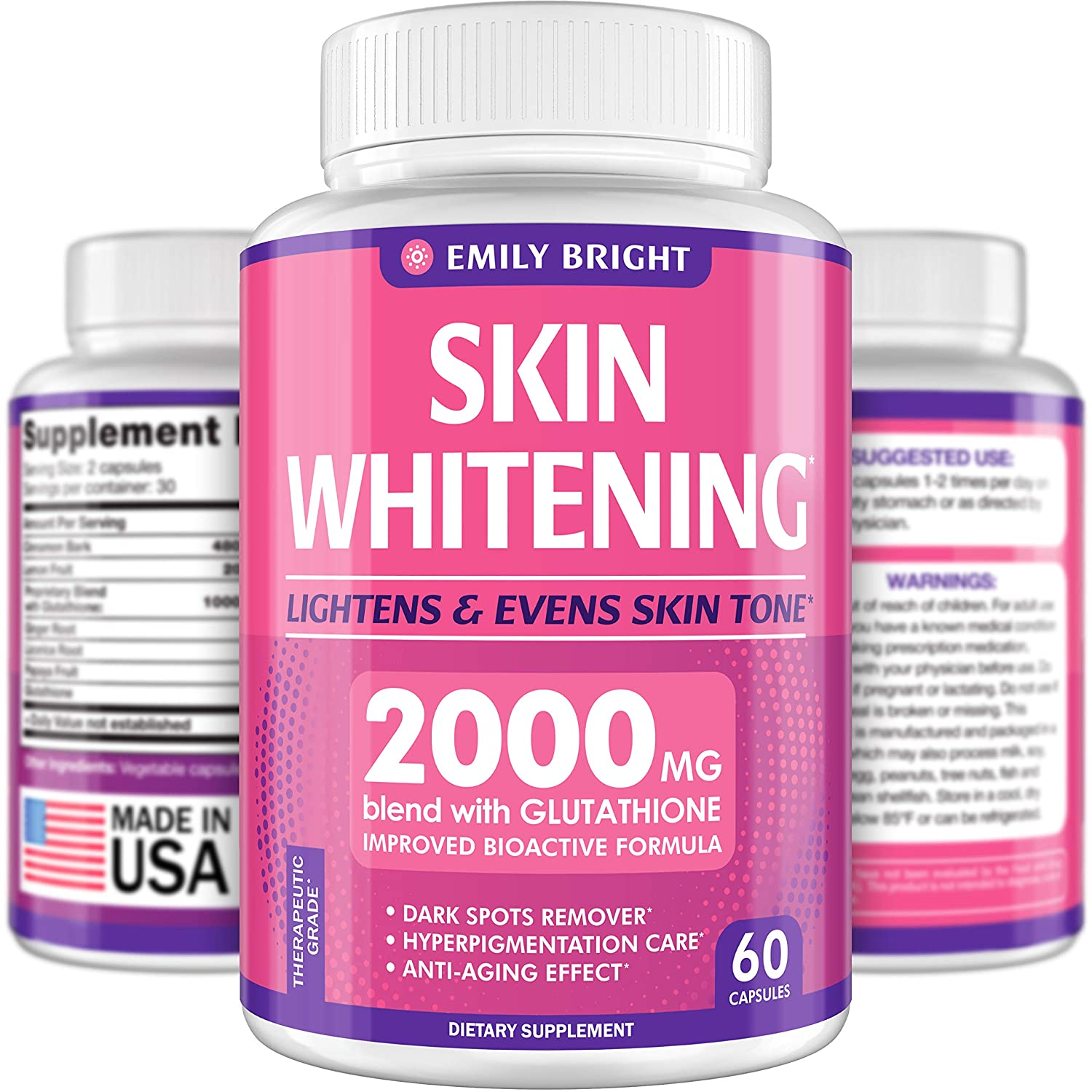 Body Whitening Supplement Recommended For Teenagers?