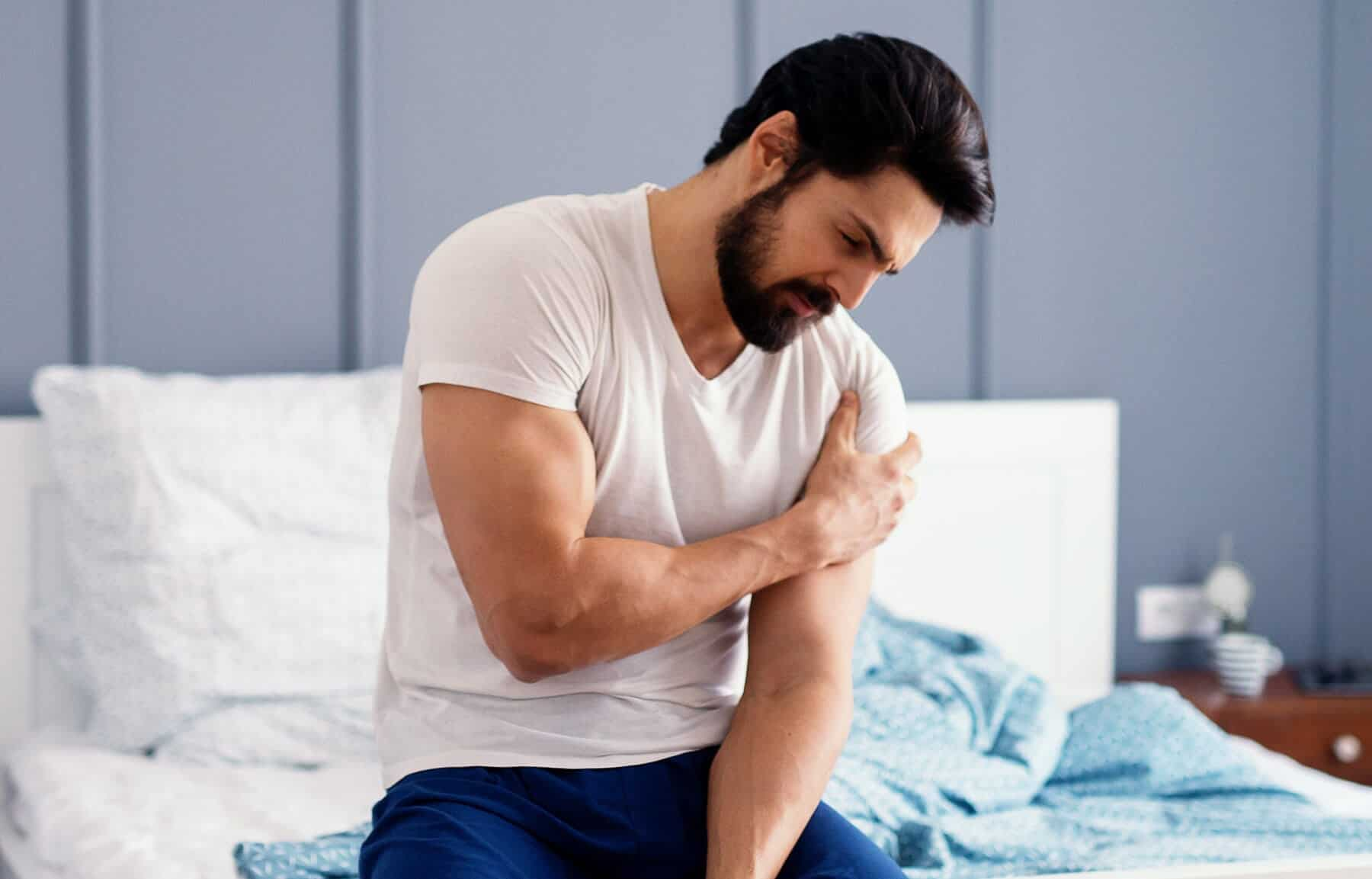 Shoulder Pain After Prolonged Exercise?