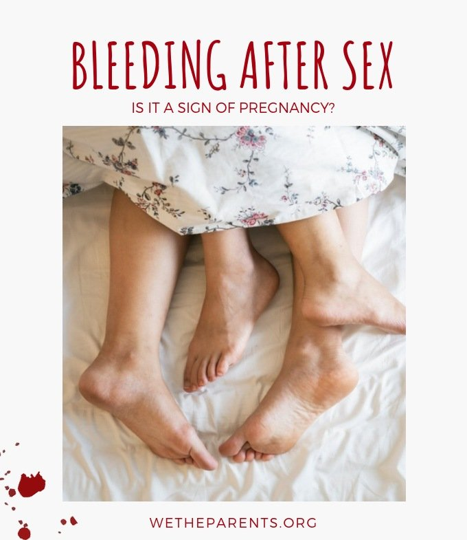 Bleeding After Intercourse And Discharge After 2 Weeks Of Menstruation?